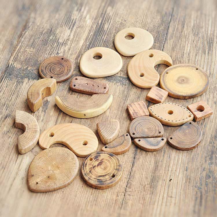Misto componenti in legno