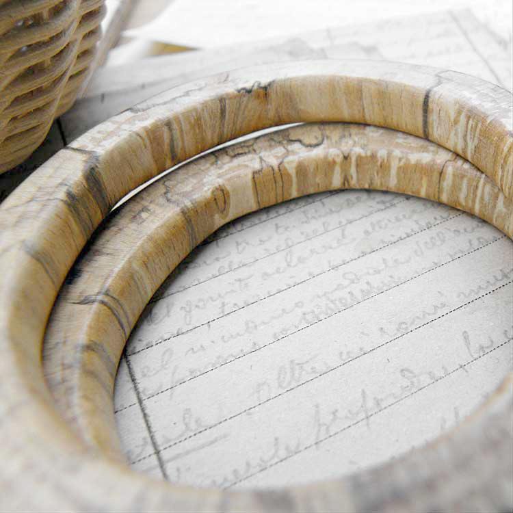 Cerchi in legno di quercia
